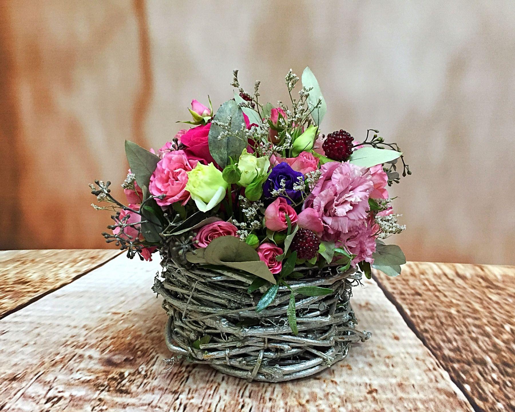Композиции из цветов маленькие